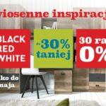 Wiosenne inspiracje w niższych cenach od Black Red White