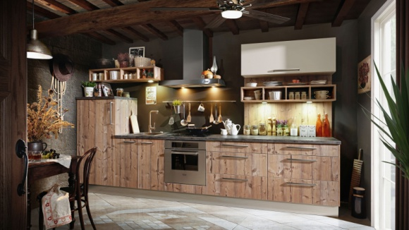 """""""Swojska"""" kuchnia na 3 sposoby LIFESTYLE, Dom - Styl retro szczególnie upodobał sobie nasze kuchnie, które ubiera w nostalgiczne wspomnienia i nadaje im przytulny, bezpretensjonalny charakter. Może być bardzo swojsko, albo po prostu ciepło i rodzinnie."""