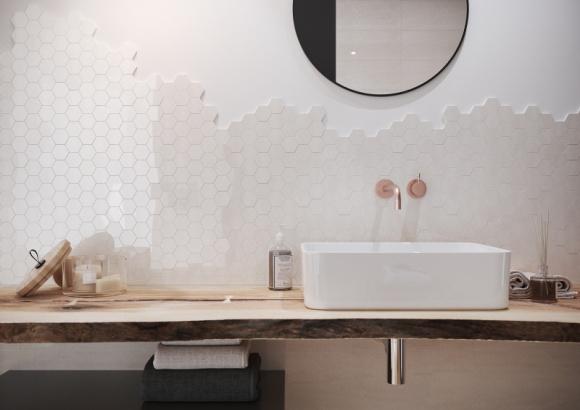 Jesienne inspiracje naturą w Twojej łazience LIFESTYLE, Dom - Na szczęście inspiracje i ciekawe pomysły aranżacyjne są wokół nas tuż na wyciągnięcie ręki. Wystarczy wyjrzeć przez okno, zachwycić się jesienną aurą i przenieść jej atmosferę wprost do swojej łazienki.