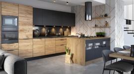 Absolutny trend: dwubarwna paleta kolorystyczna w kuchni LIFESTYLE, Dom - Kolorystyka nowoczesnej kuchni bazuje na połączeniu maksymalnie dwóch odcieni. Ten wzorniczy umiar oznacza oszczędne i przemyślane gospodarowanie wybranymi dekorami, w zamian jednak otrzymujemy wysmakowaną i harmonijną kompozycję.